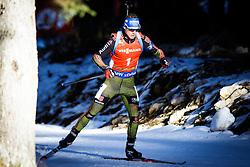 Simon Schempp (GER) competes during Men 12,5 km Pursuit at day 3 of IBU Biathlon World Cup 2015/16 Pokljuka, on December 19, 2015 in Rudno polje, Pokljuka, Slovenia. Photo by Ziga Zupan / Sportida