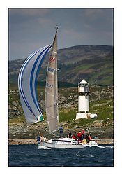 Bell Lawrie Scottish Series 2008. Fine North Easterly winds brought perfect racing conditions in this years event...CYCA Class 6 GBR6917T, Celtic Spirit, Brian Robertson, CCC, X332