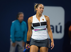 March 21, 2019 - Miami, FLORIDA, USA - Madison Keys of the United States in action during her first-round match at the 2019 Miami Open WTA Premier Mandatory tennis tournament (Credit Image: © AFP7 via ZUMA Wire)