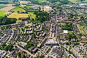 Nederland, Gelderland, Gemeente Zevenaar, 29-05-2019; overzicht centrum van Zevenaar, Schoolstraat, Grietsestraat, winkelcentrum.<br /> City centre Zevenaar.<br /> luchtfoto (toeslag op standard tarieven);<br /> aerial photo (additional fee required);<br /> copyright foto/photo Siebe Swart