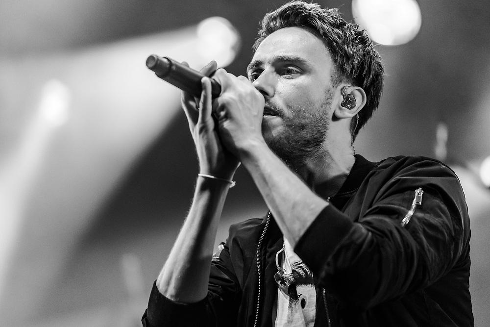 German singer-songwriter Clueso at Haldern Pop Festival