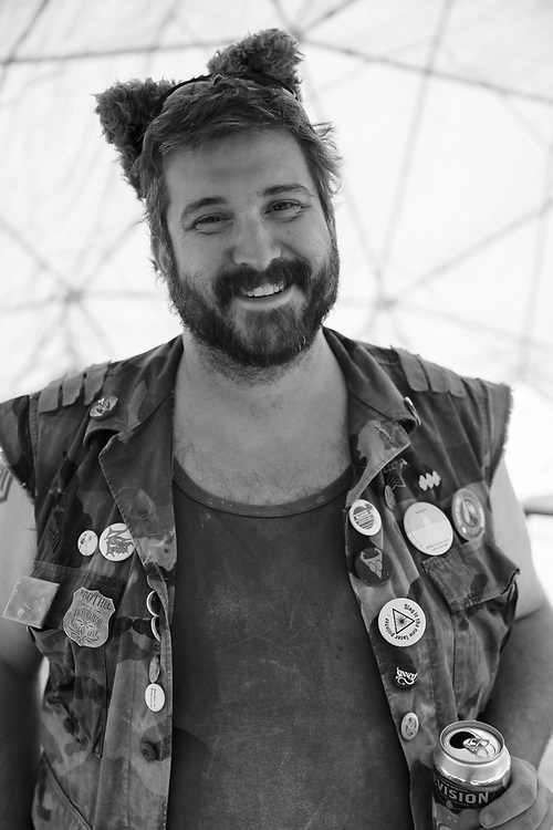 The color got all fucked up here so I made this one black and white. We we're inside Camp Awesomesauce's pink dome when I shot this. Hard to get good color inside a completely pink dome! My Burning Man 2018 Photos:<br /> https://Duncan.co/Burning-Man-2018<br /> <br /> My Burning Man 2017 Photos:<br /> https://Duncan.co/Burning-Man-2017<br /> <br /> My Burning Man 2016 Photos:<br /> https://Duncan.co/Burning-Man-2016<br /> <br /> My Burning Man 2015 Photos:<br /> https://Duncan.co/Burning-Man-2015<br /> <br /> My Burning Man 2014 Photos:<br /> https://Duncan.co/Burning-Man-2014<br /> <br /> My Burning Man 2013 Photos:<br /> https://Duncan.co/Burning-Man-2013<br /> <br /> My Burning Man 2012 Photos:<br /> https://Duncan.co/Burning-Man-2012
