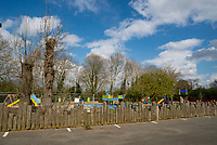 stratford upon avon Recreation Ground  04/04/20 photo by Mark Anton Smith