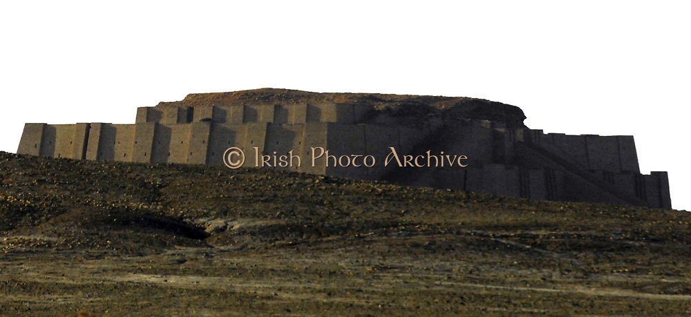 The Ziggurat of Ur, located in the southeast of Iraq. Believed to be 4000 years old, it was built by the order of Ur-Nammu (c2047-2030 BC) as a temple to the moon god Nanna. Ancient Civilisation Sumerian Mesopotamia