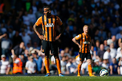 Tom Huddlestone of Hull City looks dejected after Tottenham Hotspur score a goal to make it 2-0 - Photo mandatory by-line: Rogan Thomson/JMP - 07966 386802 - 16/05/2015 - SPORT - FOOTBALL - London, England - White Hart Lane - Tottenham Hotspur v Hull City - Barclays Premier League.