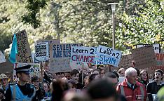Climate Change Protest March,  Edinburgh, 20 September 2019