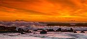 San Diego Coastline At Coronado Island During Sunset