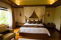 A suite interior, Four Seasons Resort Chiang Mai, Mae Rim district, near Chiang Mai, Northern Thailand