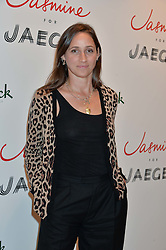 ROSEMARY FERGUSON at the launch of the 'Jasmine for Jaeger' fashion collection by Jasmine Guinness for fashion label Jaeger held at Fenwick's, Bond Street, London on 9th September 2015.