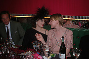 Jasmine Guinness and Jade Parfait. Selfridges Las Vegas dinner hosted by  hon Galen , Hillary Weston and Allanah Weston. Selfridges Oxford St. 20 April 2005. ONE TIME USE ONLY - DO NOT ARCHIVE  © Copyright Photograph by Dafydd Jones 66 Stockwell Park Rd. London SW9 0DA Tel 020 7733 0108 www.dafjones.com