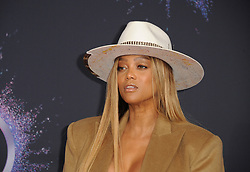 Tyra Banks at the 2019 American Music Awards held at the Microsoft Theater in Los Angeles, USA on November 24, 2019.