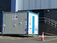 Oldham coronavirus testing station by zoe hodges