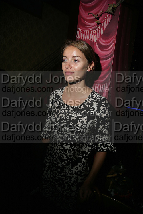 Nadia Brooks, Book launch for Julian Clary's ' Murder Most Fab ',Simon Drake's House of Magic 9 Chapter Road, Kennington SE17. 14 August 2007.  -DO NOT ARCHIVE-© Copyright Photograph by Dafydd Jones. 248 Clapham Rd. London SW9 0PZ. Tel 0207 820 0771. www.dafjones.com.
