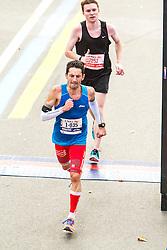 ING New York CIty Marathon: Daniel Atienza, Joe Darda