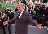 Director Aleksandr Sokurov at the gala screening for the film Francofonia at the 72nd Venice Film Festival, Friday September 4th 2015, Venice Lido, Italy.