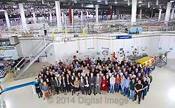 2014 Australian Synchrotron Staff group photograph.