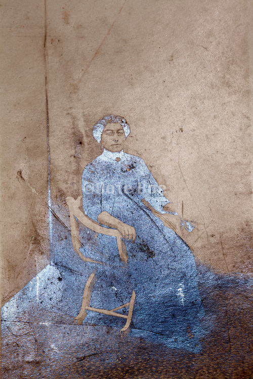 etreme oxidizing studio photo portrait of a adult woman sitting in a chair