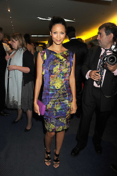 THANDIE NEWTON at the GQ Men of the Year Awards held at the Royal Opera House, London on 2nd September 2008.<br /> <br /> NON EXCLUSIVE - WORLD RIGHTS