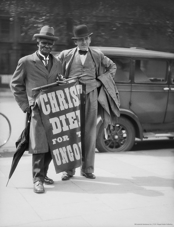 Orators in Hyde Park, Religion, London, 1933