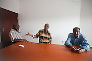 Members of the Independent Federal Constitution Commission (IFCC) discuss the current making-of the Somalian Constitution, which they hope to implement in about 5 years..Left: Adam Mhd Abdullahi (IFCC member).Middle: Mohammed Muse Fole (IFCC Public Consultation Chair).Right: Prod Abdillahi HAssan Jama (Chairman IFCC)..The geostrategical and geopolitical importance of the Republic of Djibouti, located on the Horn of Africa, by the Red Sea and the Gulf of Aden, and bordered by Eritrea, Ethiopia and Somalia.