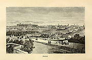 Madrid Cityscape from the book Sights and sensations in Europe : sketches of travel and adventure in England, Ireland, France, Spain, Portugal, Germany, Switzerland, Italy, Austria, Poland, Hungary, Holland, and Belgium : with an account of the places and persons prominent in the Franco-German war by Browne, Junius Henri, 1833-1902 Published by Hartford, Conn. : American Pub. Co. ; San Francisco, in 1871