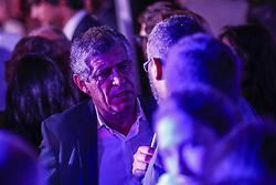 October 2, 2016 - Lisboa, Portugal - Lisbon, 10/02/2016 - Cristiano Ronaldo in Lisbon for the Inauguration of CR7 Pestana Hotel on Commerce Street, in downtown Lisbon. Fernando Santos.Fernando Santos. (Credit Image: © Atlantico Press via ZUMA Wire)