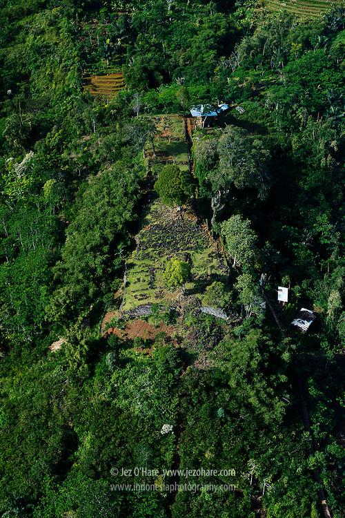 Gunung Padang, Cianjur, West Java, Indonesia.