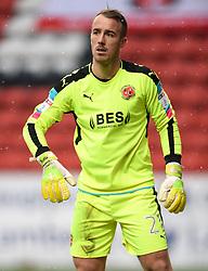 Fleetwood Town goalkeeper Alex Cairns