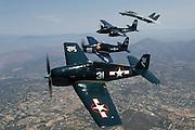 Grumman cats:  F6F, F8F, F7F, F-14