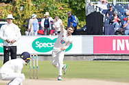 Cameron Steel bowling during the Specsavers County Champ Div 2 match between Durham County Cricket Club and Leicestershire County Cricket Club at the Emirates Durham ICG Ground, Chester-le-Street, United Kingdom on 21 August 2019.