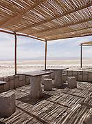 Road rest stop in the Atacama desert, Chile