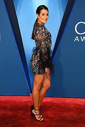 Reba McEntire at the 51st CMA Awards held at the Bridgestone Arena on November 8, 2017 in Nashville, TN. ©Tammie Arroyo/AFF-USA.com. 08 Nov 2017 Pictured: Lea Michele. Photo credit: MEGA TheMegaAgency.com +1 888 505 6342