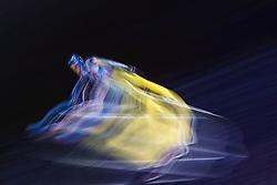05.01.2013, Paul Ausserleitner Schanze, Bischofshofen, AUT, FIS Ski Sprung Weltcup, 61. Vierschanzentournee, Qualifikation, im Bild Dawid Kubacki (POL) // Dawid Kubacki of Poland during Qualification of 61th Four Hills Tournament of FIS Ski Jumping World Cup at the Paul Ausserleitner Schanze, Bischofshofen, Austria on 2013/01/05. EXPA Pictures © 2012, PhotoCredit: EXPA/ Juergen Feichter