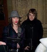 RUTH CARNAC; ALFIE ALLEN, Cirque de Soleil London premiere of Quidam. Royal albert Hall. 6 January 2009