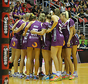 THE TEAM (QLD FIREBIRDS) PHOTO: SMP IMAGES / QLD FIREBIRDS MEDIA - 4th June 2016 - Action from the 2016 ANZ Championships Round 10 clash between the Queensland Firebirds v Melbourne Vixens played at the Gold Coast convention centre, Australia.<br /> Photo: SMP IMAGES / FIREBIRD MEDIA
