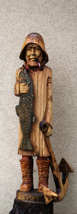Rybak, rzeźba, Hel<br /> The fisherman, the sculpture, Hel