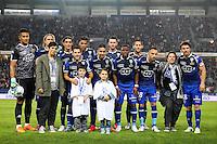 Equipe Bastia - 16.05.2015 - Bastia / Caen - 37eme journee de Ligue 1<br />Photo : Michel Maestracci / Icon Sport