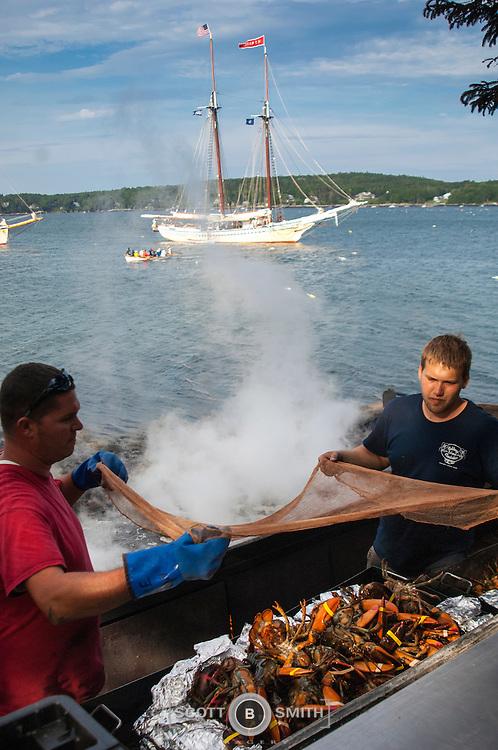 2014 Cabbage Island Clam Bake Windjammer Promotional