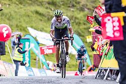 12.07.2019, Kitzbühel, AUT, Ö-Tour, Österreich Radrundfahrt, 6. Etappe, von Kitzbühel nach Kitzbüheler Horn (116,7 km), im Bild Amanuel Gebreigzabhier (Team Dimension Data, ERI) // during 6th stage from Kitzbühel to Kitzbüheler Horn (116,7 km) of the 2019 Tour of Austria. Kitzbühel, Austria on 2019/07/12. EXPA Pictures © 2019, PhotoCredit: EXPA/ JFK