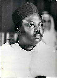 Feb. 02, 1976 - Army Coup In Nigeria - General Murtala Muhammed is Ousted. A group of Young revolutionaries seized power in Nigeria, toppling the Government of General Murtala Muhammed, who took over power in a coup. Photo Shows:- General Murtala Muhammed who has been ousted. (Credit Image: © Keystone Press Agency/Keystone USA via ZUMAPRESS.com)