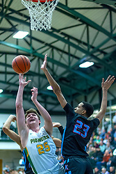 26 December 2019: State Farm Holiday Classic Coed Basketball Tournament , Normal-Bloomington Illinois<br /> <br /> Chicago Kenwood Broncos v Normal University High Pioneers boys basketball