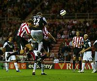 Fotball<br /> England 2005/2006<br /> Foto: SBI/Digitalsport<br /> NORWAY ONLY<br /> <br /> Sunderland v Manchester City<br /> The Barclays Premiership.<br /> 23/08/2005.<br /> Sunderland's Anthony Le Tallec (C) scores his team's first goal.