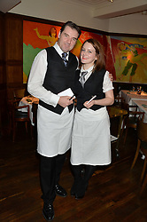 BRENDAN COYLE and SOPHIE McSHERA at One Night Only at The Ivy in aid of Acting For Others supported by Tanqueray No.TEN Gin at The Ivy, 1-5 West Street, London on 1st December 2013.