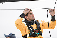 """The Seven Star Triple Crown as part of Lendy Cowes week 2017. The Volvo Ocean Race Team """"Turn the Tide on Plastic"""" crewman Bledon Mon (GBR) <br /> Credit Lloyd Images"""