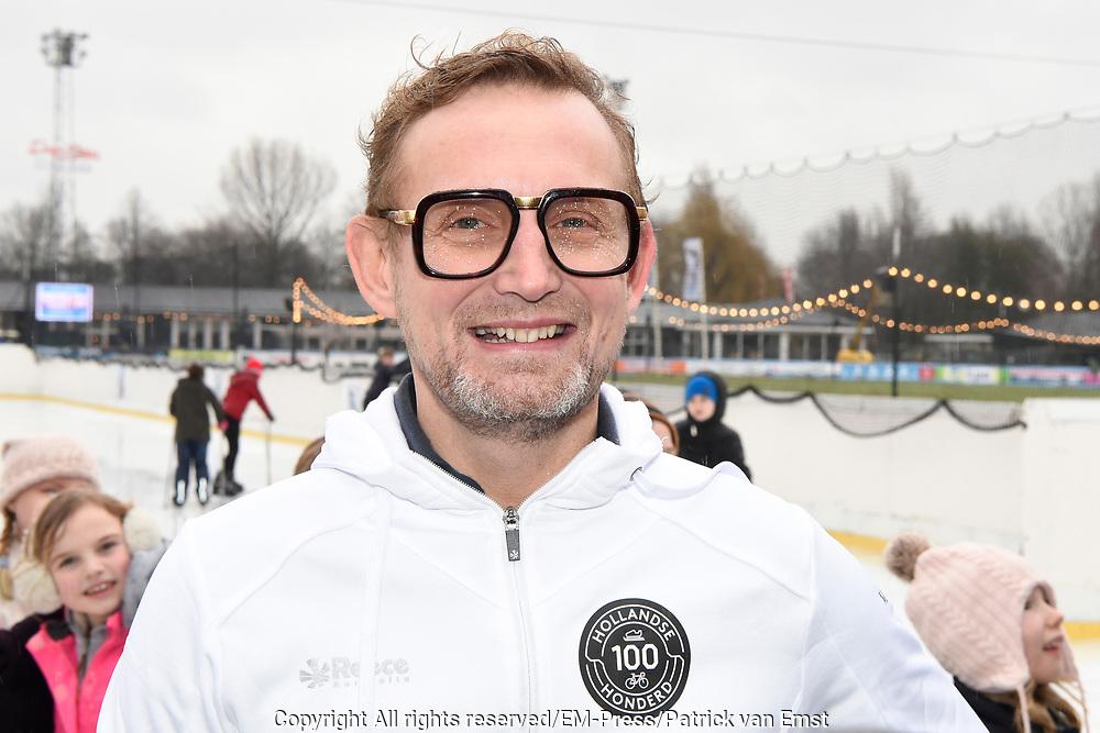 Kick-off De Hollandse 100 2019 van Lymph&Co bij de Jaap Eden IJsbaan in Amsterdam.Lymph&Co is een initiatief van Bernhard van Oranje en heeft als doel de financiering van wetenschappelijk onderzoek naar de aard en behandeling van lymfklierkanker te steunen. <br /> <br /> Op de foto:  Prins Bernhard