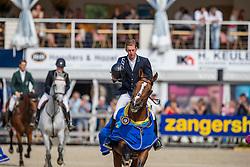 Appelen Jeroen, BEL, Nero de Semilly N<br /> FEI WBFSH Jumping World Breeding Championship for young horses Zangersheide Lanaken 2019<br /> © Hippo Foto - Dirk Caremans