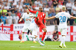 Fabian Delph of England during the EURO 2016 Qualifier Group E match between Slovenia and England at SRC Stozice on June 14, 2015 in Ljubljana, Slovenia. Photo by Mario Horvat / Sportida