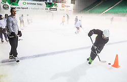 Ken Ograjensek during morning training at Ice Hockey camp of I. Jan, on July 28, 2016 in Ledna dvorana Tivoli, Ljubljana, Slovenia. Photo by Vid Ponikvar / Sportida