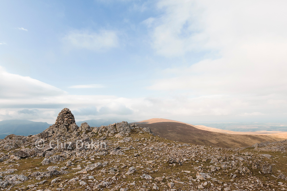 The beehive shaped cairn on Raise is very distinctive