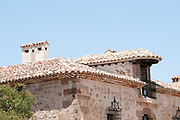 The old town of Medinaceli, Soria, in Castile and Leon, Spain.
